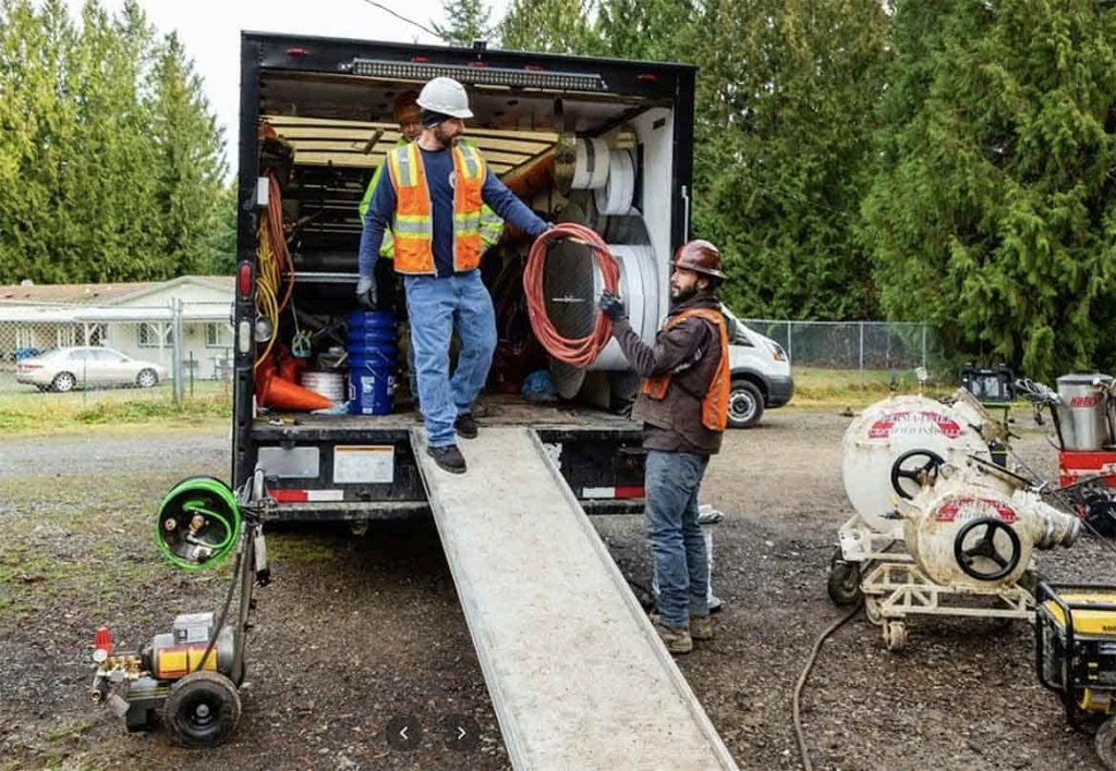 trenchless pipe lining in Seattle, WA
